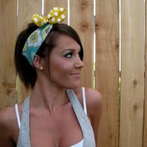 Vintage Inspired Pin Up Dolly Bow R..