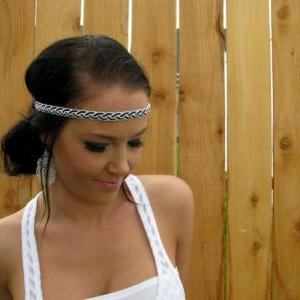 Bohemian Indie Hippie Chic White an..
